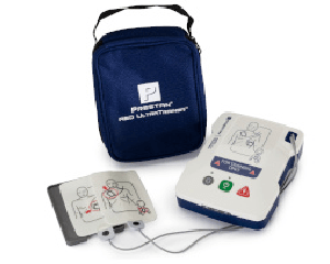 Prestan AED UltraTrainer with Adult Pads and Carry bag